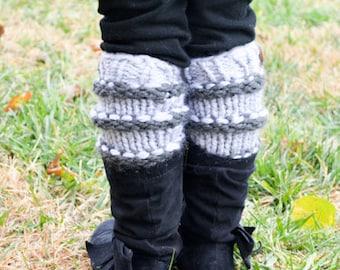 KNITTING PATTERN. Knit Leg Warmers Pattern. Leg Warmers Pattern. Instant Download. Knit Venice leg warmers (039)
