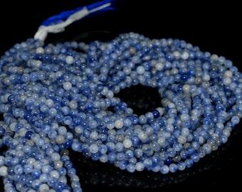 "2mm Sodalite Round beads full strand 16"" Loose Beads P142634"