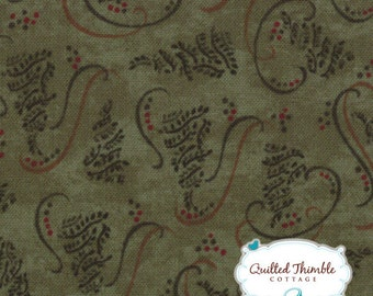Christmas Spirit by Holly Taylor - Trees Pine (6472-18) - 1 Yard
