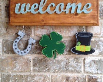 St Patrick's Day Ornaments for Welcome Sign