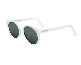 White Vintage Sunglasses - L.A. Gear Private Dancer - original 1980's LA Gear
