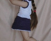 K1 - Cheer Leading Outfit - Crochet pattern for Kidz N' Cats Dolls