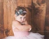 Baby headband-pink and camo headband-military inspired headband-Girl camo and pink headband