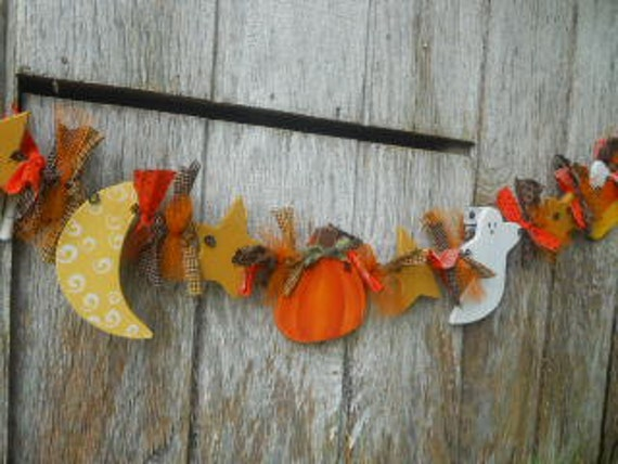 Halloween Garland, Made To Order