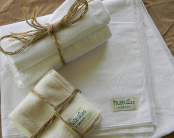 Organic Baby Blanket-Organic and Eco Friendly Baby Shower Gift