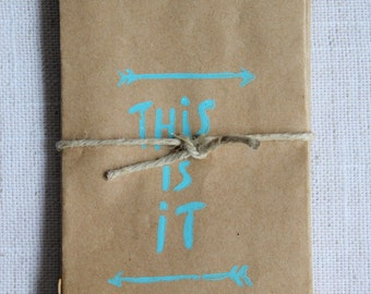 """Gift Card Bag """"This Is It"""" - 10pk"""