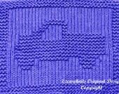 Large Knitting Cloth Pattern - PICKUP TRUCK - PDF
