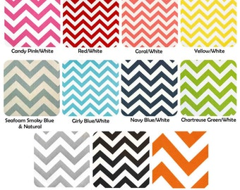 Chevron Bridesmaids Clutches Choose Your Fabric Set of 5