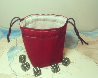 "Greyed Out ""Mini"" Dice Bag"