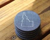 Idaho- Recycled Fabric Magnet - ID Blue