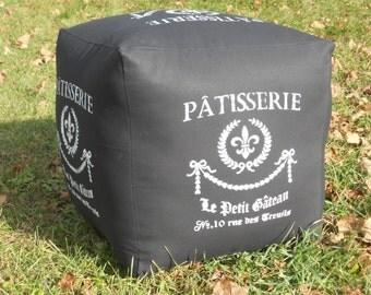 Patisserie - Hassock, Ottoman, Pouf