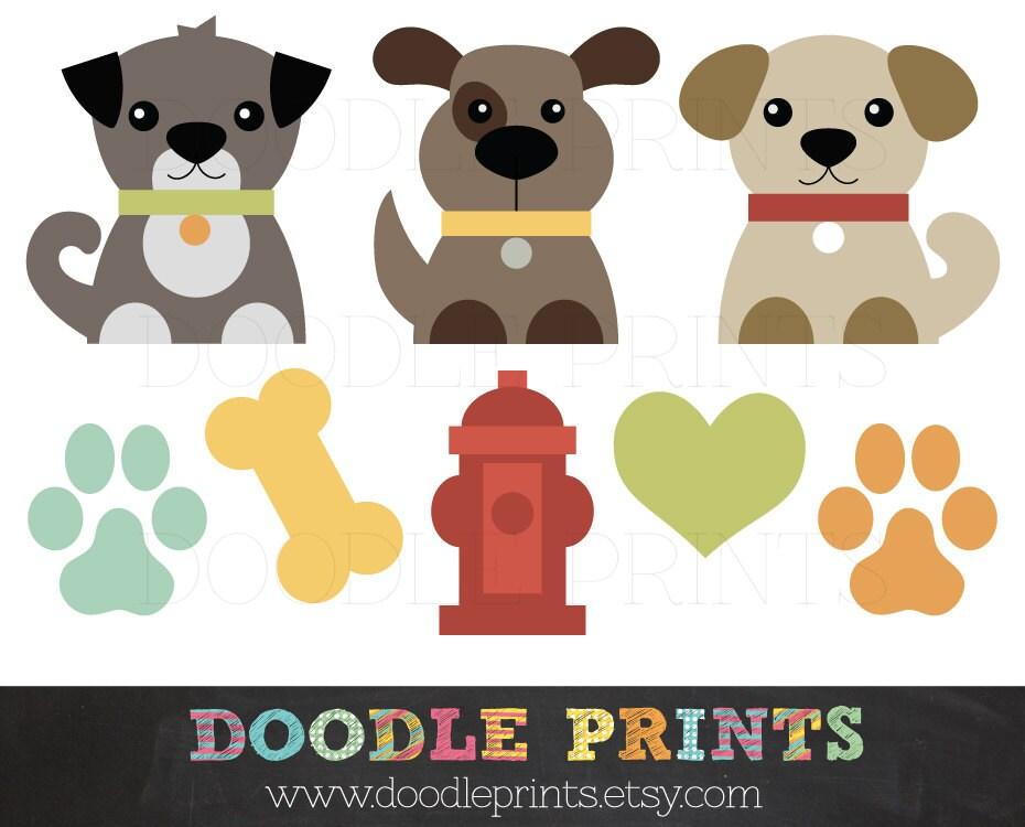 Dog Clip Art Printable Dogs Clipart Design Puppy Love