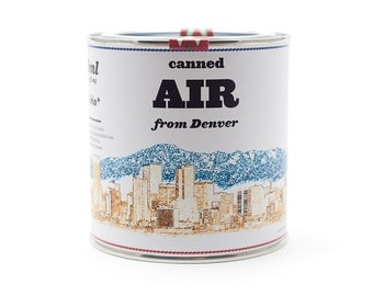 Original Canned Air From Denver, Colorado, USA, gag gift, souvenir, memorabilia