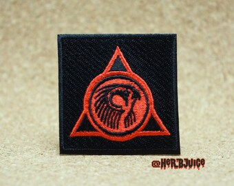 "1x (2x2 inch) Square Sun God ""RA""  Patch"