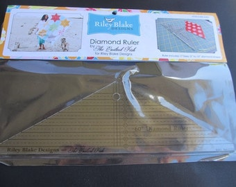 Diamond Ruler by The Quilted Fish for Riley Blake Designs
