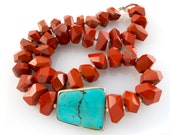 Statement Necklace - Red Tibet