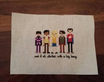 Big Bang Theory Cross Stitch