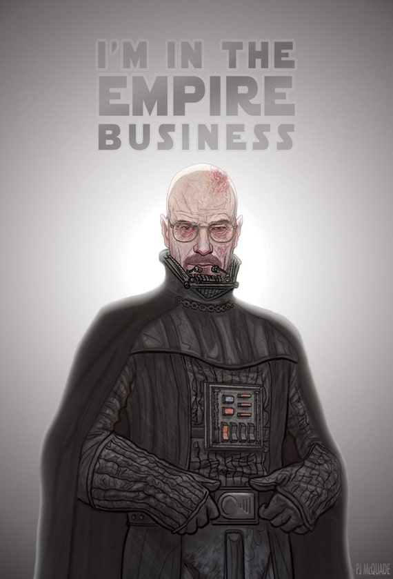 Darth HEISENBERG Breaking Bad Giclee Print
