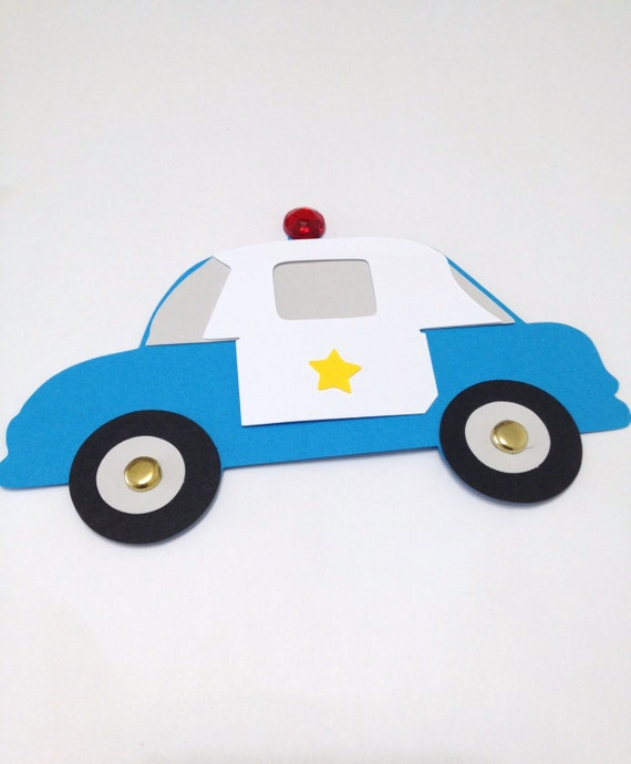 Police car craft kit for kids birthday party favor for Car craft for kids