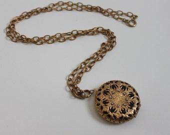 Vintage Locket, Necklace, Pendant,  Locket. Wedding Jewelry, Mothers Day, Locket, Necklace, Blue Gemstones with Pearls, Sachet