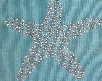 Starfish iron on transfer