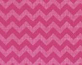 Chevron - Small Textured - Pink - 1 yard