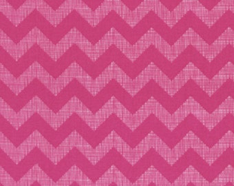 Chevron - Small Textured - Pink - BTY