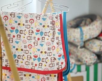 Mezoome ORGANIC Colorful  Baby Summer Blanket / Organic Stroller Baby Blanket Baby blanket / Organic baby blanket