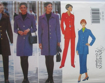 Butterick 4667 Womens Jacket Skirt Pant Sewing Pattern Bust 40 42 44