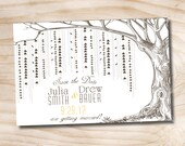 WILLOW TREE Wedding Save the Date  Postcard  - You Print