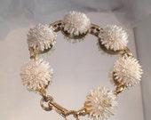 Vintage Celluloid Featherlite Bubbleite Japanese Bracelet