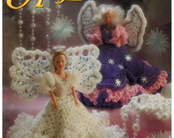 Barbie Angel Doll Costumes Annie's Attic  Christmas