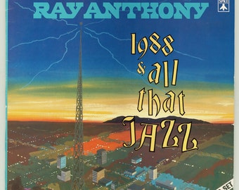 Ray Anthony Orchestra, 1988 and All that Jazz With Vocalist Madeline Vergari - Big Band Jazz - Vintage Vinyl Record Album 1988 Aero Space LP