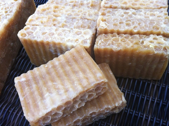 Amish Honey & Unrefined Shea Butter Soap to Rejuvinate and Moisturize Your Skin