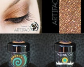 Copper-brown Mineral Eye Shadow  Scaredy Cat - Artifact - 5 mL Sifter
