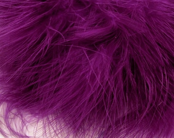 Marabou Purple MRDQ-19 craft feathers .25 oz craft feathers boutineers