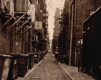 Alley, Boston, Brown, Dark, texture, Cityscape, Urban, Mystery, City, photograph