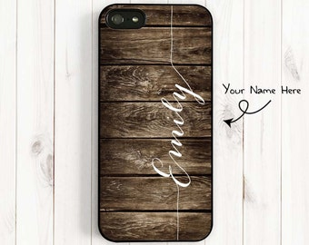 Rustic Printed Image Wood iPhone Case - Personalized, iPhone 7 5 5C Case iPhone 4 4s Case Samsung Galaxy S3 S4 S5 cases samsung note 3 UL08