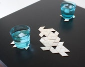 Geometric Cluster Coasters 20% OFF!