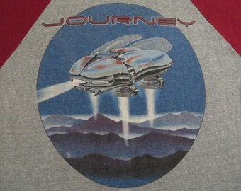 JOURNEY vintage 1982 tour T SHIRT