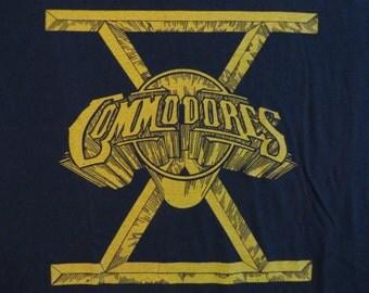 COMMODORES vintage 1980 tour TSHIRT