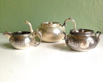 Dazzling 1920s Silver Plated Tea set