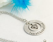 Personalized Child of God CTR Necklace