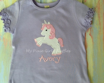 Monogrammed Unicorn T-Shirt