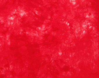 Art Fabric, REDS & WHITE, 21 Inches x 30 Inches, Colorfast - Pre Washed