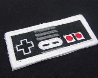 Classic Retro Video Game controller  Iron on OR Sew on Patch