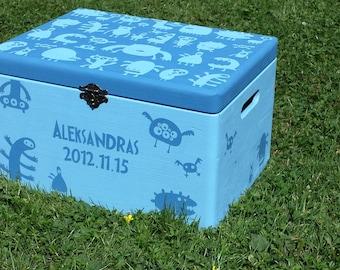 Baby keepsake, memory box  personalised