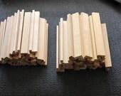 50 Used Scrabble Wood Tile Racks Holders for Scrapbooking Crafts Teacher School