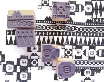 5 AZTEC-stamps