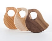 Bird Wood Rattle // An Eco-Friendly Safe...